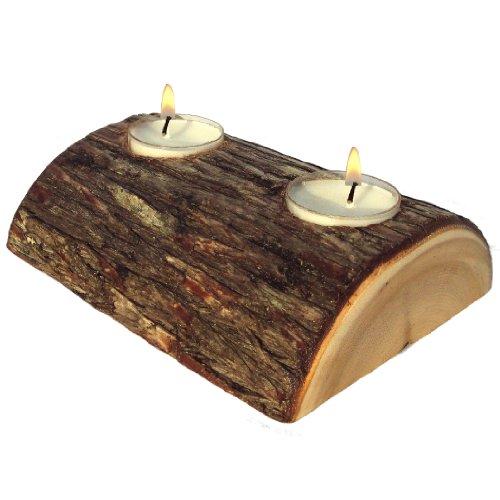 er (Rustic Cedar Log Holder)
