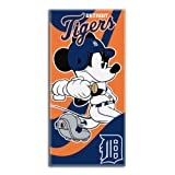 Northwest MLB Detroit Tigers Windup Co-Branded Disney's Mickey Beach Towel