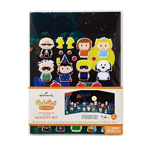 HMK Hallmark itty bittys Halloween Peanuts Gang Sticker Kit -