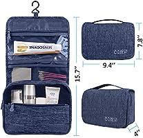 e448e8b3198e EcoLifeDay Handing Toiletry Bag, Waterproof Toiletry Bag for Travel, Travel  Large Dopp Kit