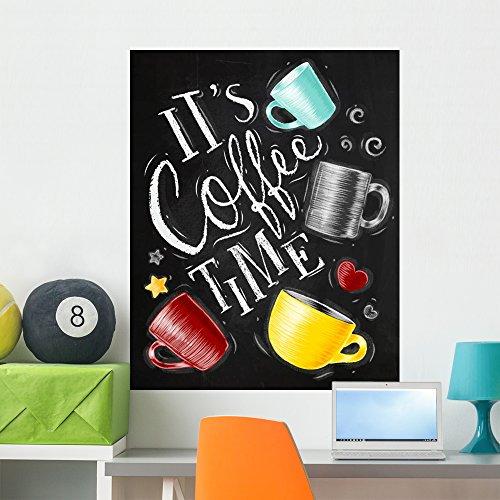 Wallmonkeys Poster Coffee Time Wall Mural