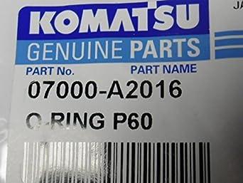 Komatsu Genuine Parts 07000-A2016 O-Ring, Accessories & Parts