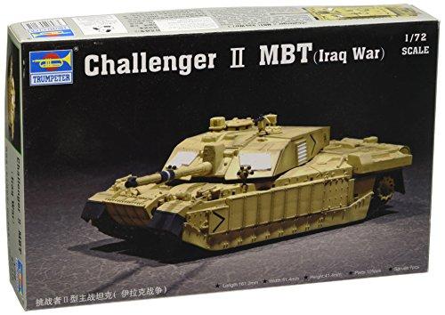 Main British Tank Battle (Trumpeter 1/72 British Challenger II Iraq Main Battle Tank)