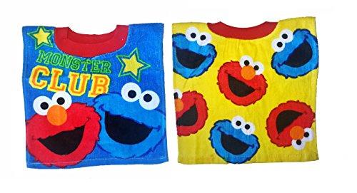 Price comparison product image Elmo Baby Sesame Street Bibs- 2 Piece Pack (Blue / Yellow)