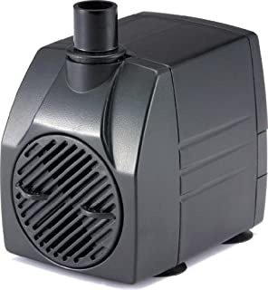 PonicsPump PP21105: 211 GPH Submersible Pump with 5\' Cord - 12W… for  Hydroponics