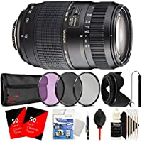 Tamron Auto Focus 70-300mm f/4.0-5.6 Di LD Macro Zoom Lens with Accessory Kit for Canon Digital SLR Cameras