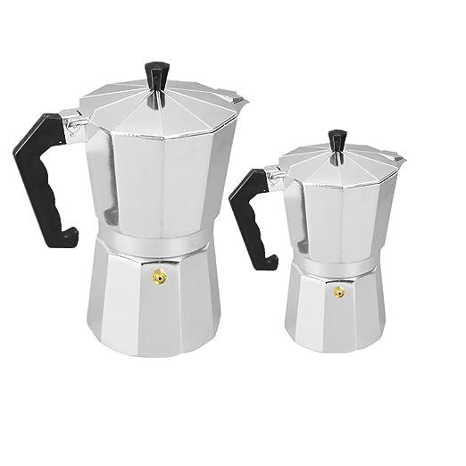 Cafetera De Aluminio Moka Pot Cafetera Espresso Cafetera Hecha A ...
