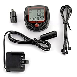 Ezyoutdoor Bike Computer Waterproof Leisure 14 Functions LCD Display MTB Bicycle Computers Cycling Odometer Sports Speedometer