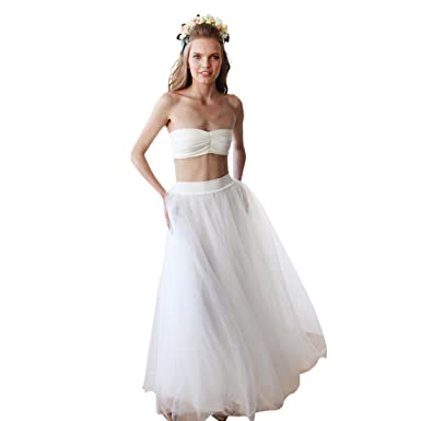 White Skirt for Weddings