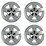 Hub-caps for 08-12 Chevrolet Malibu (Pack of 4) Wheel Covers 17 inch Snap On Chrome