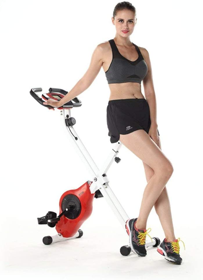 LSYOA Plegable Indoor Bicicleta Bicicleta Estática, Bicicleta ...