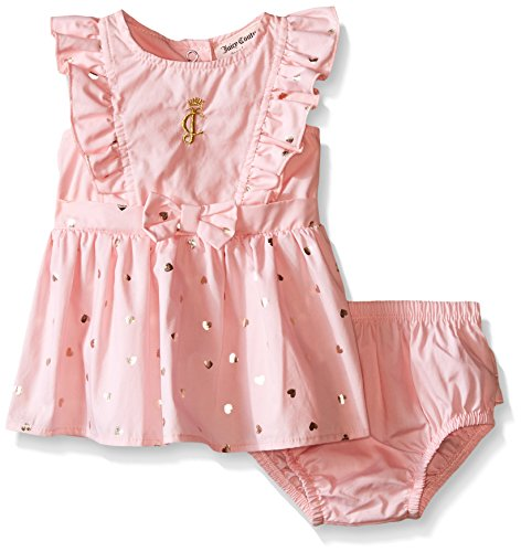 juicy-couture-baby-girls-solid-and-foil-printed-poplin-dress-and-panty-pink-18-months