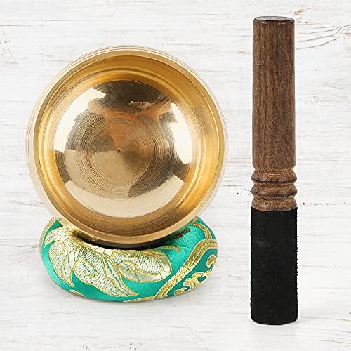 DomeStar Tibetan Singing Bowl Set, Sound Bowl Meditation Bowl Meditation Sound Bowl Handcrafted in Nepal for Healing and Mindfulness
