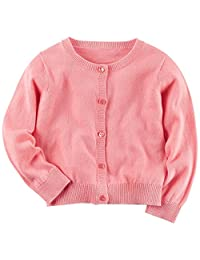 "Carter's Little Girls' Toddler ""Accented Classic"" Cardigan"
