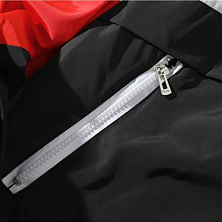 Slim Fit con Capucha Outwear Blusa de Sudadera Suéter de Barras paralelas de Costura para Hombre BaZhaHei Invierno Abrigo Casual Sudadera con Capucha Chaqueta de Lana Capa Jacket Parka Pullover