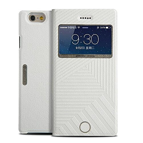 """iPhone 6 Case, Elecase Classic Series Smart Window View Front Flip Cover W Open Logo Back Folio Case for iPhone 6 4.7"""""""