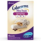 Glucerna Mini Treat Bars, To Help Manage Blood Sugar, Oatmeal Raisin, 0.70 Ounce Bar, 36 Count (Packaging May Vary)
