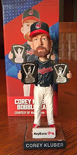 Corey Kluber Cy Young Awards Winner Bobblehead Released by The Cleveland Indians May 28th, 2018 SGA