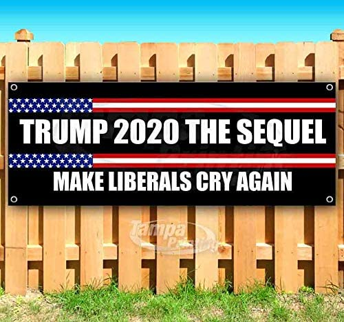 for Advertising See Also Flags No More Bull Banner is a 13 oz Premium Heavy Weight Vinyl Banner with Stiched Hem and Metal Grommets in New Condition Trump 2020 or Display and Signs.