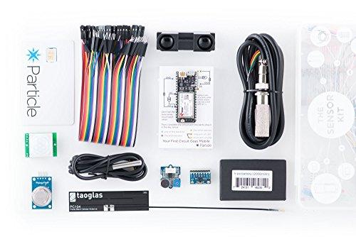 particle.io SNSRKIT3G260 Electron 3G Sensor Kit, Contains an Electron and Environmental ()