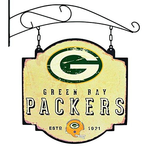 Winning Streak Green Bay Packers Vintage Tavern Pub Bar Metal Sign ()