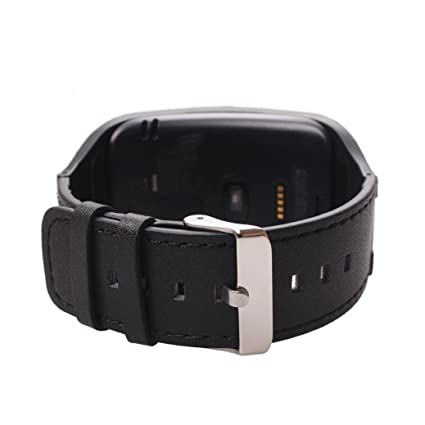 Amazon.com: [Soft Genuine Leather Watch Band ] Replacement ...