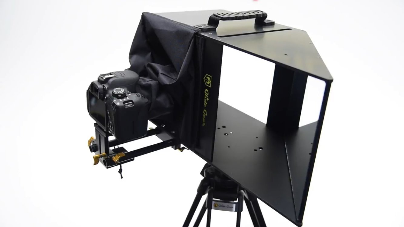 Glide Gear Face 2 Face Hybrid Interview Periscope and Teleprompter by Glide Gear