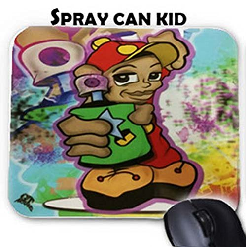 GT Artland Spray Can Kid Graffiti on Mouse Pad