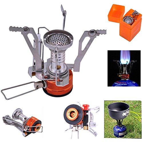 17 Best Images About Camping Cooking Equipment On: Bisgear 12-17Pcs Camping Cookware Stove Carabiner Canister
