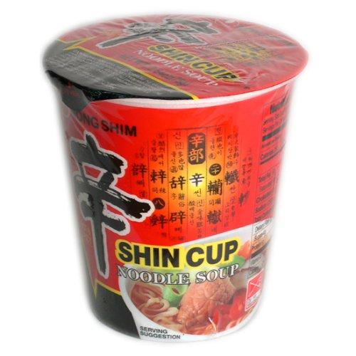 Nong Shim Soup Cup Noodle Shin