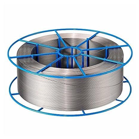 1 mm de diámetro 308LSi de hilo de soldadura de acero inoxidable 5 kg, 800 m: Amazon.es: Bricolaje y herramientas
