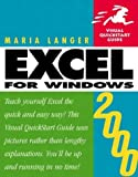 Excel 2000 for Windows, Maria Langer, 0201354276