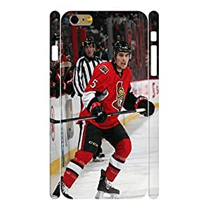 Artistic Wonderful Hockey Player Action Photo Pattern Skin for iphone 6 4.7