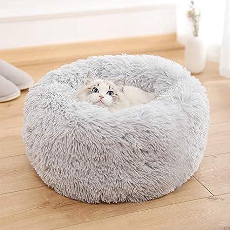 KongEU - Cama con Forma de Donut para Perro, Gato, cojín ...