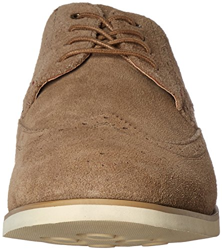 Hush Puppies Mens Fowler Ez Dress Oxford Taupe Scamosciato
