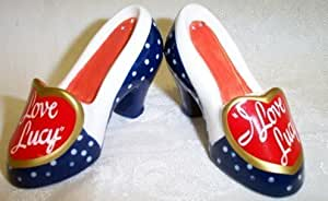 I Love Lucy Shoes Salt & Pepper Set