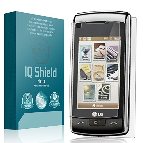 IQ Shield Matte Full Coverage Anti-Glare Screen Protector for LG enV Touch (VX11000) Anti-Bubble Film