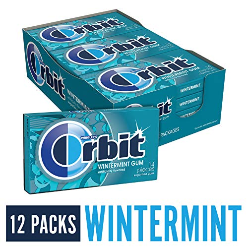 Orbit Wintermint Sugarfree Gum, 12 packs