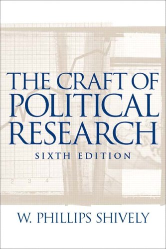 The Craft of Political Research: CourseSmart eTextbook