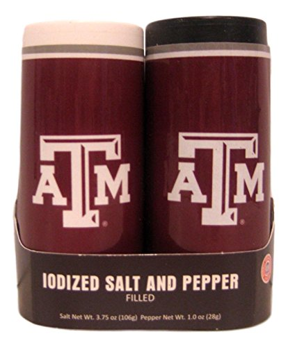 JK Game Day Greats Texas A&M Aggies Salt & Pepper Shakers ()