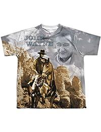 Hollywood Icon Actor Ride Em Cowboy Big Boys Front Print T-Shirt Tee