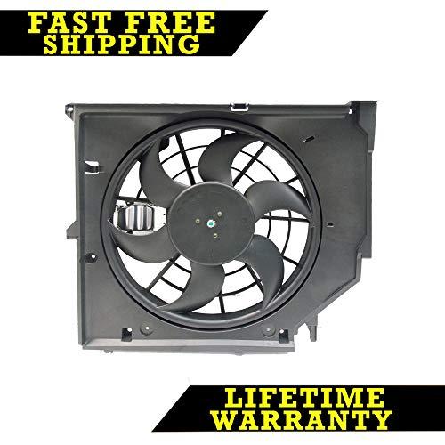 RADIATOR COOLING FAN FOR BMW FITS 323 325 328 330I XI CI E46 BM3115108 ()