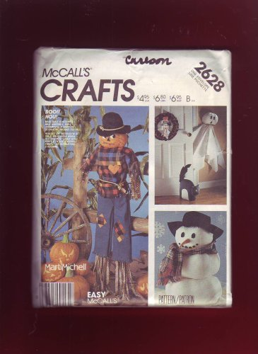 (Decorative Holiday Package McCall's Craft Sewing Pattern 2628)