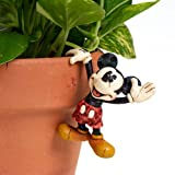 Disney Traditions by Jim Shore 4016548 Mickey Mouse Garden Pot Hanger 2-1/2-Inch