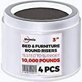 Best Bed Risers - iPrimio Bed and Furniture Risers – 4 Pack Review