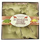 Fox Run Dinosaur Cookie Cutter Set