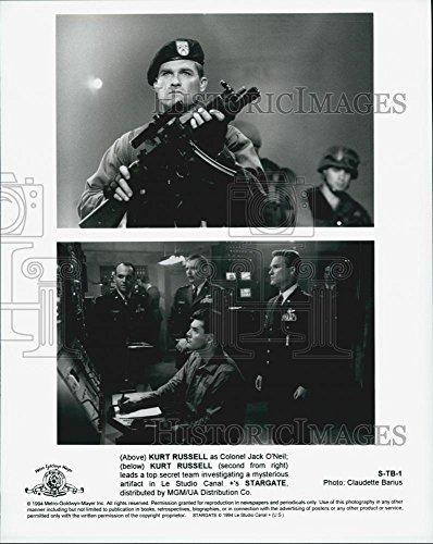 1994 Press Photo Kurt Russell in