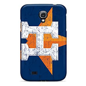 MarcClements Samsung Galaxy S4 Excellent Hard Phone Case Support Personal Customs HD Houston Astros Skin [fkF8106mZAC]