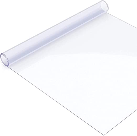 tcatec - Protector de Mesa Transparente, lámina de PVC, 100 x 200 ...