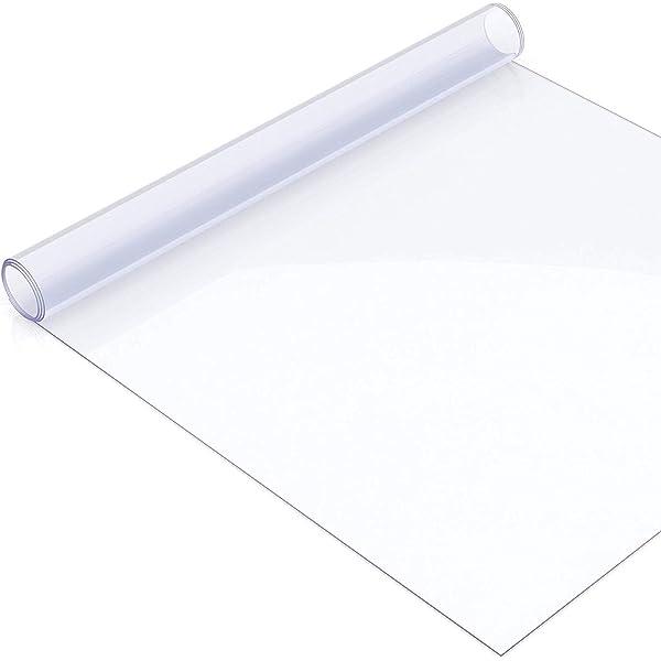 100cm ancho mantel mesa protección película protectora mesa protección 2mm transparente